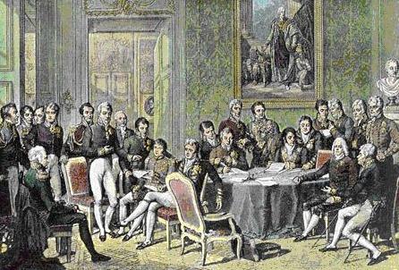 拿破仑战败,欧洲各国还有沙俄迅速开会瓜分法