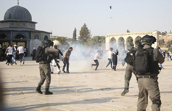以色列警方关闭圣殿山所有出入口