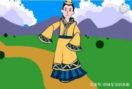 """""""邯郸学步""""的故事"""