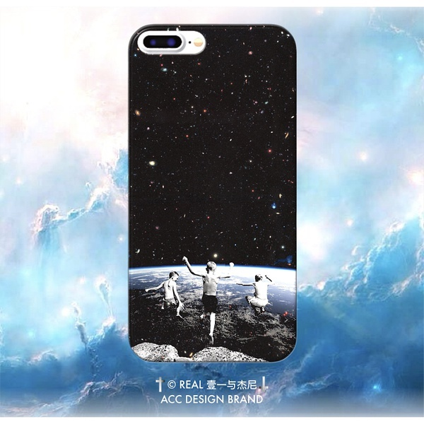 iPhone|Oppo手机壳宇宙苹果艺术幻想7Plus推酷HD安卓版图片