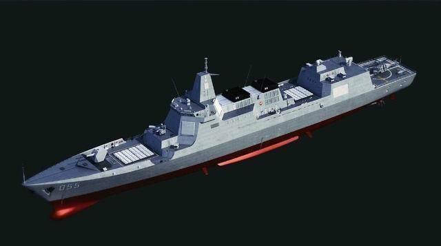 055驱逐舰第四艘现身 002航母正准备进行海试 003会在哪里开工?