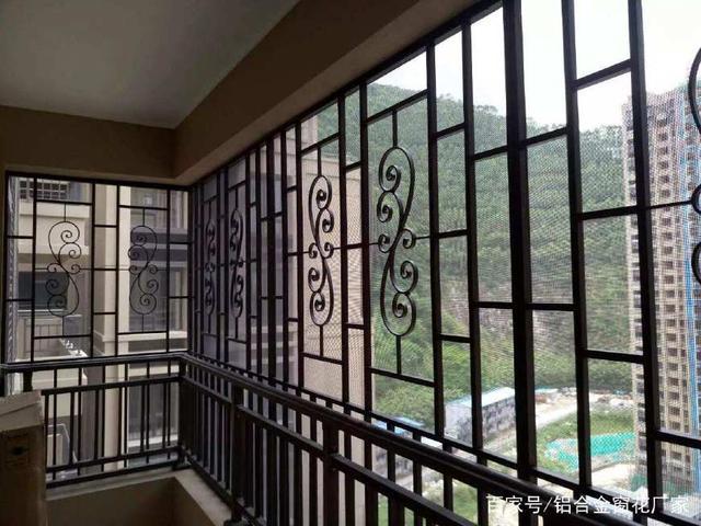 仿古铝窗花价格