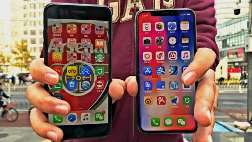 今天我们来对比下iphone 8跟iphone X