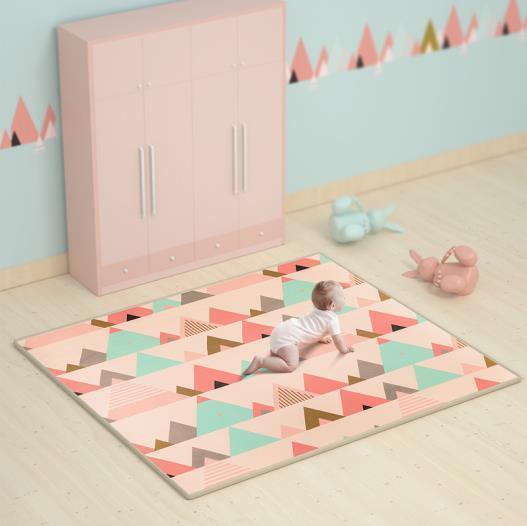 babycare爬行垫安全舒适 宝宝从此爱上爬行