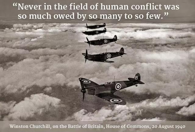 """""""在人类战争史上,从来没有这么少的人为这么多的人做出过这么大的贡献。"""""""