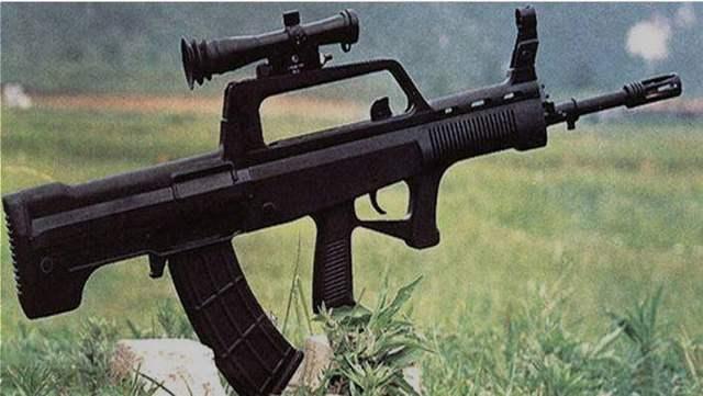 看看我国第一次独自独立开发的5.8mm口径枪 还是有点儿成绩的!