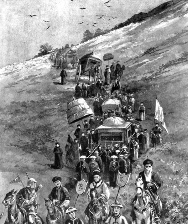 八国联军进北京,慈禧的珍宝却完好无损?因为藏