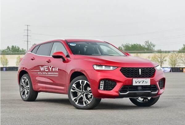 长城WEY高端品牌将推两款新车VV7c VV7s 将上市高清图片