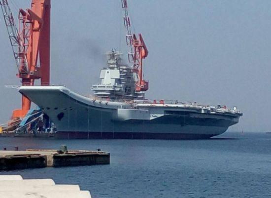 一征兆显示中国第三艘航母或已秘密开建 可能用核动力、蒸汽弹射