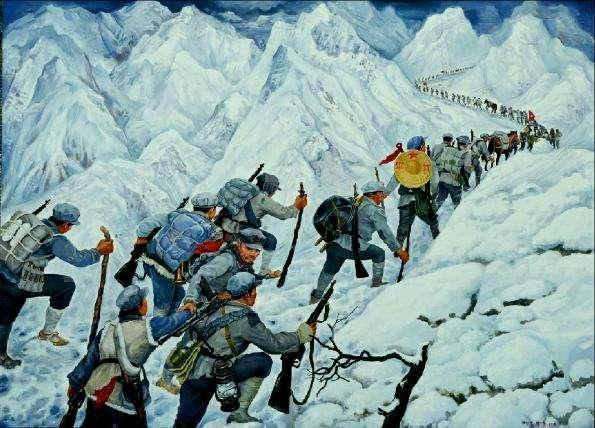 百岁老红军回忆长征过雪山:背靠背打盹一转身视频莎小漫图片