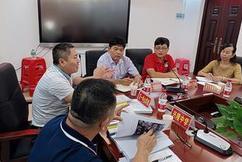 """标题:万宁市教育局到东方市学习""""市管校聘""""改革管理工作经验"""