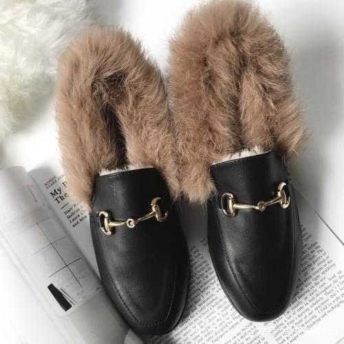 「毛草鞋」毛毛鞋