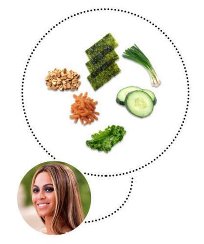 那些拥有蚂蚁腰、海豚尾、蝴蝶骨的美人儿推荐的运动期减脂沙拉