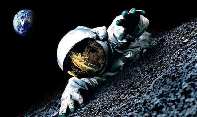「美国登月恐怖经历」登月球