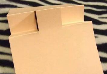 送给老师的贺卡 老师的贺卡正方形卡纸