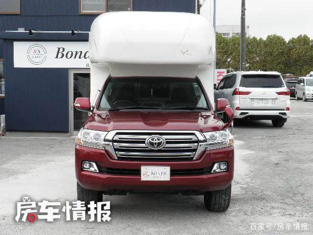 丰田陆巡变身房车,越野能力依旧强悍,还多了能睡觉洗澡的小公寓-有驾