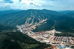 标题:通化越野滑雪训练基地进入收尾施工阶段即将投入使用