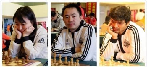 2018中国国际象棋联赛第19轮 中国移动上海队提前三轮夺冠
