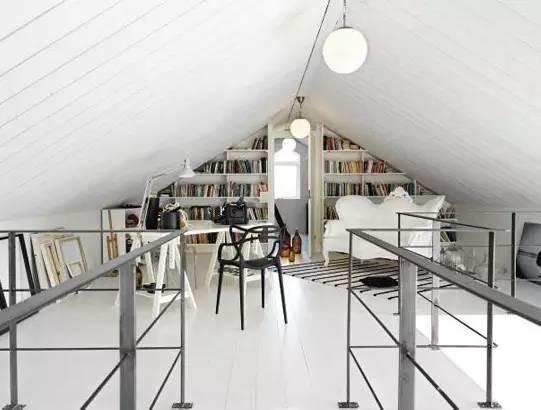 多功能的阁楼空间设计欣赏