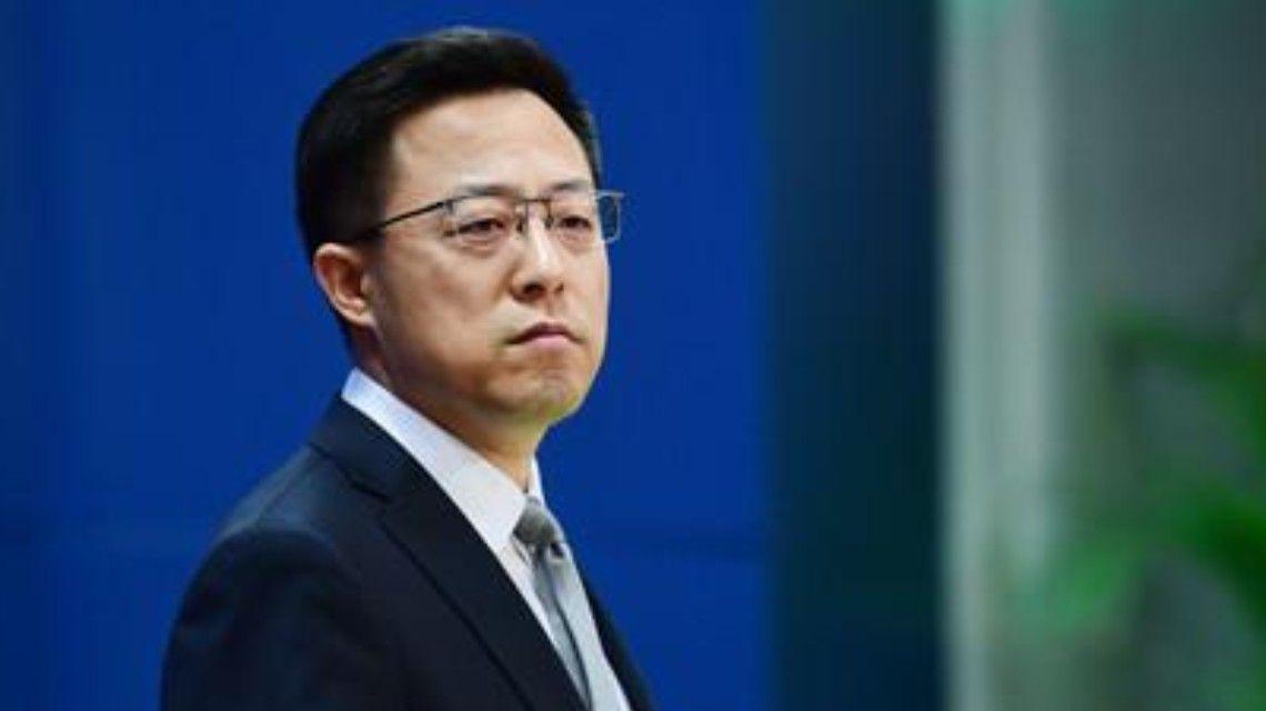 圖片:趙立堅:中方愿同阿新政權保持溝通