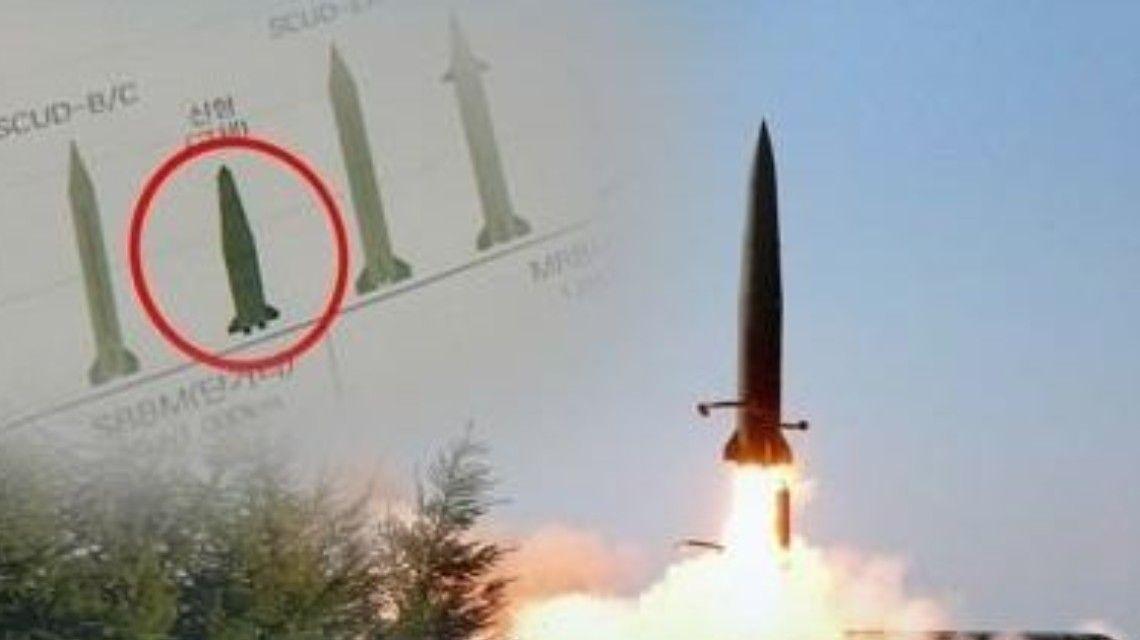 圖片:韓方稱朝鮮發射2枚彈道導彈